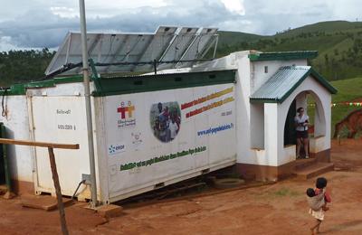 Boitawatt, cabinet dentaire,à Madagascar