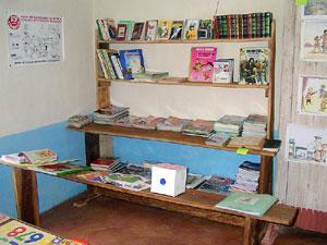bibliothèque  à Ankadibé